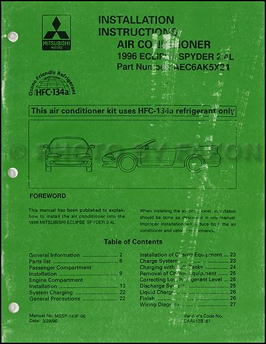 free auto repair manuals 1996 mitsubishi eclipse lane departure warning 1996 mitsubishi eclipse repair shop manual set original