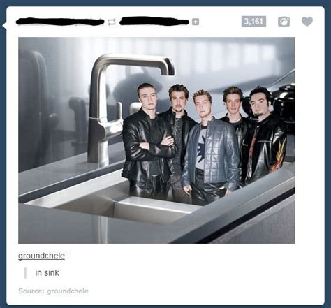 In Sink Boy Band 32 of the greatest things that happened on sinks the
