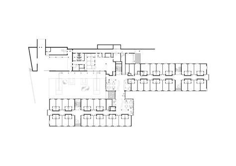 nursing home floor plan exles gallery of nursing home g 228 rtner neururer 13