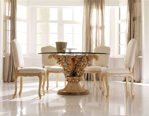 best design glass top dining table 2011 dining room