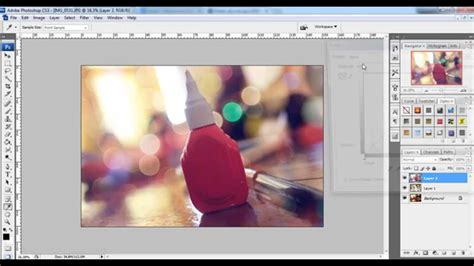 tutorial photoshop untuk photographer belajar edit bokeh blur untuk photography tutorial