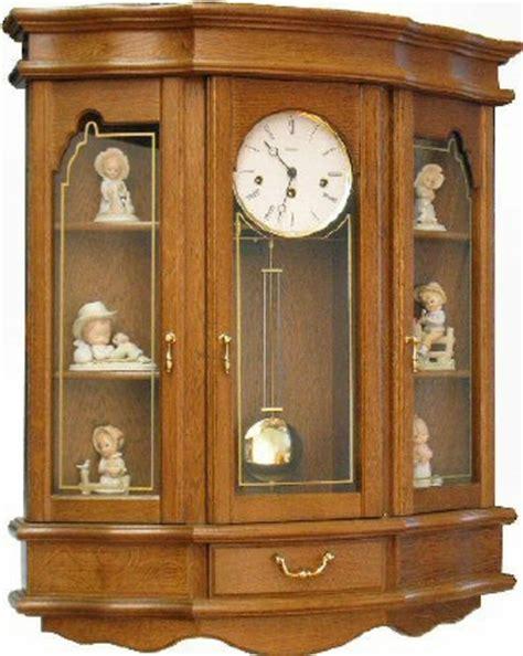 Curio Cabinet Clock Schneider Gehause Wall Curio Clock W1990 3