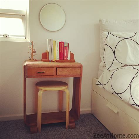vanity desk with mirror project bedside vanity from repurposed objects