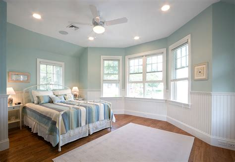 16 Beautiful Exles Of Light Blue Walls In A Bedroom Light Turquoise Paint For Bedroom
