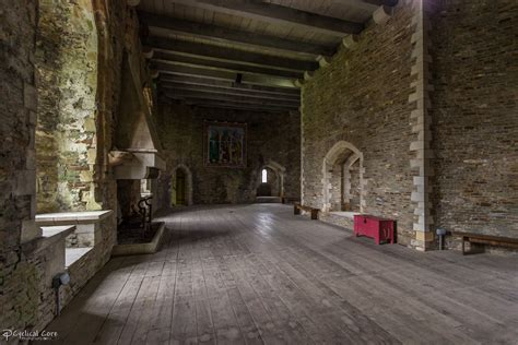Caerphilly Castle Interior Room By Cyclicalcore On Castle Room