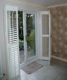 Patio Door Window Coverings Patio Door Shutters By Shutter Master Of Uk