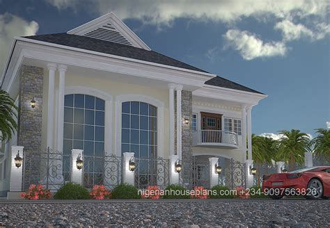 5 bedroom duplex house plans nigerianhouseplans your one stop building project solutions center