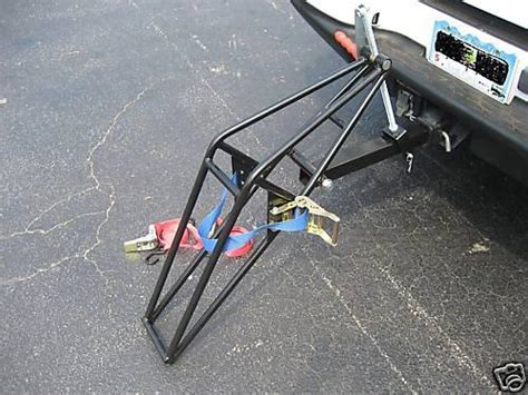Motorcycle Tow Rack by Find Motorcycle Trailer Carrier Tow Dolly Hauler Rack