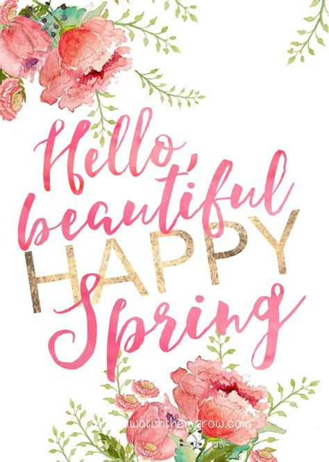 printable spring quotes happy easter and hello spring printables wallpaper