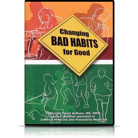 holistic fixes for your bad health habits doctor oz changing bad habits for good dvd lifestart seminars