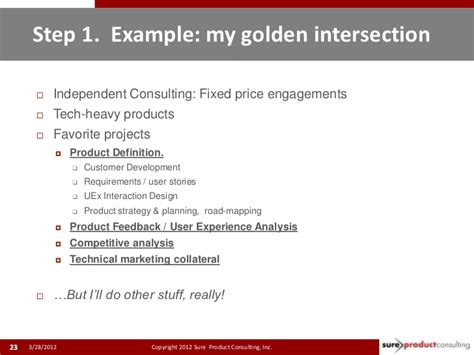 become an independent product management consultant