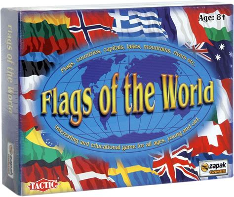 flags of the world tactic tactic flags of the world board game flags of the world