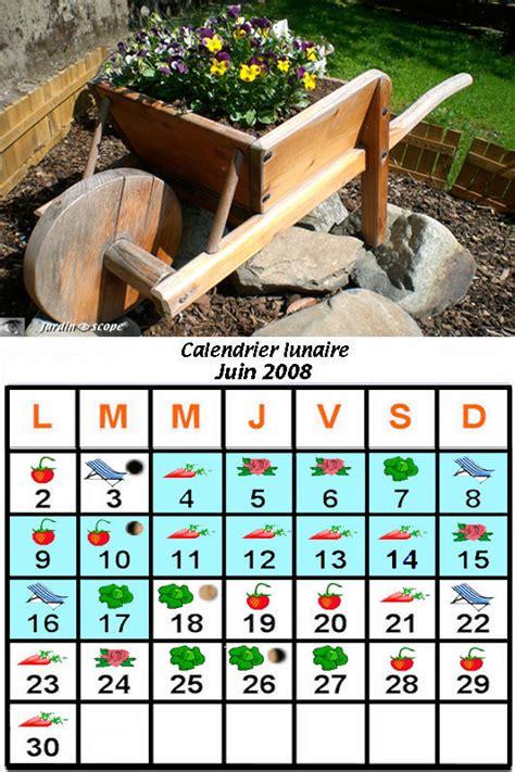 Calendrier Lunaire Novembre 2008 Jardiner Avec La Lune Au Mois De Juin 2008 Le