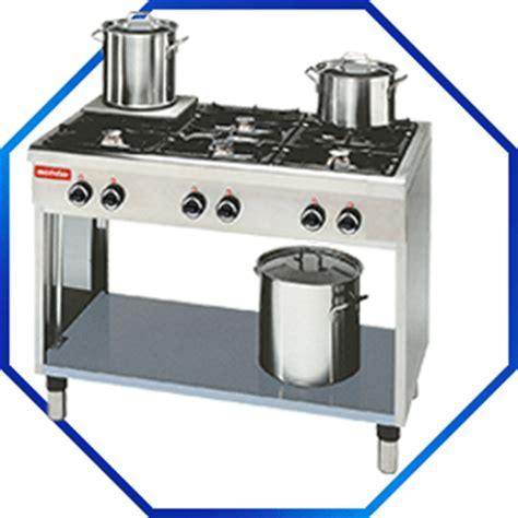 gas cooking table modular 650 modular 650 cooking table