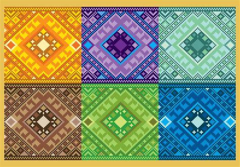 aztec patterns free pixelated aztec patterns download free vector art stock
