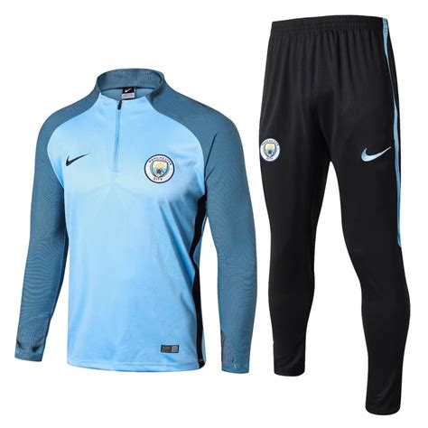 Jacket Zipper Manchester City Gradasi Merah 17 18 manchester city light blue stripe suit 922380 163 47 99 wholesale cheap soccer