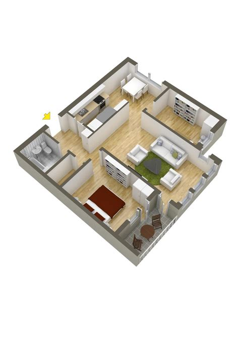 two bedroom home 40 more 2 bedroom home floor plans