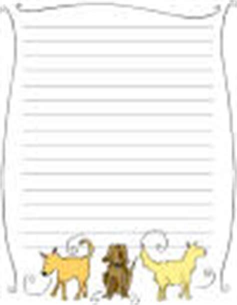 free printable dog stationery kid printables printable stationery