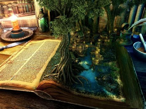 magic picture book magical book oracle a reading just for you cauldrons