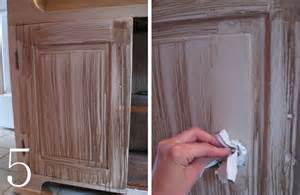 How To Paint And Glaze Kitchen Cabinets by Diy Cabinet Makeover With Glaze Overlay Burger