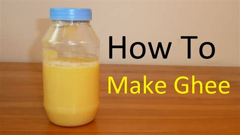 ghee how to make clarified butter masalatize