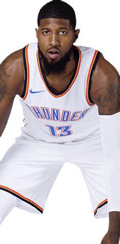 Sepatu Basket Paul George 1 Low Okc oklahoma city thunder basket4ballers