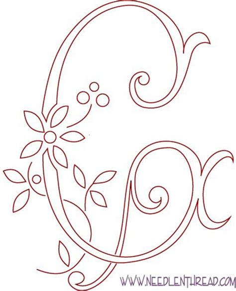 pattern design letter 25 best ideas about embroidery letters on pinterest