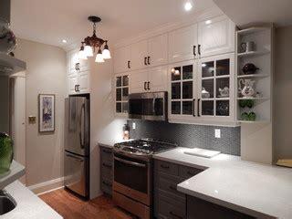 ikea kitchens lidingo gray  white  stacked wall