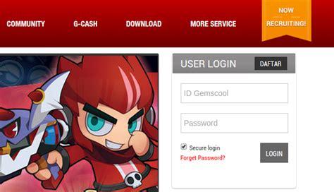 cara membuat id pb di gemscool cara membuat id gemscool indonesia tutorial pendaftaran