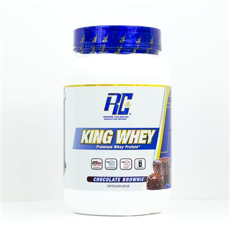King Whey Ronnie Coleman Signature Series King Whey 2lb Barely