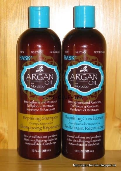 argan oil just how good is it for natural hair hask argan oil repairing shoo and conditioner just