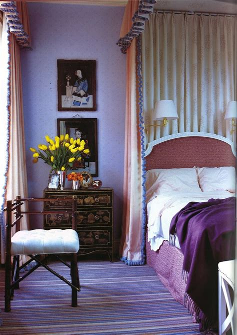 jeffrey bilhubers purple interiors  color