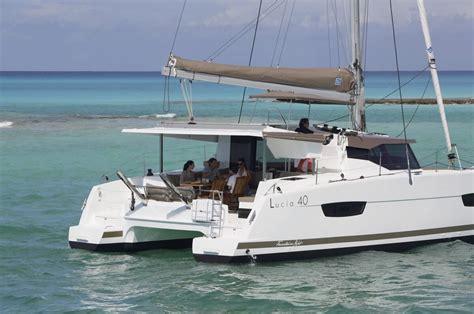 catamaran st lucia the new fountaine pajot lucia 40 atlantic cruising yachts