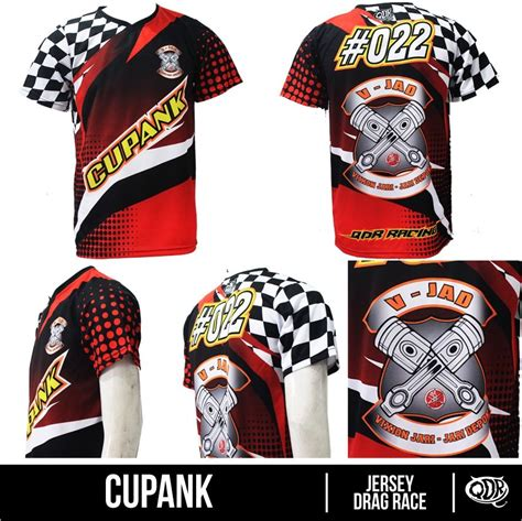 Jersey Drag Race Dkh jersey dhls dragrace custom cupank bahan fit