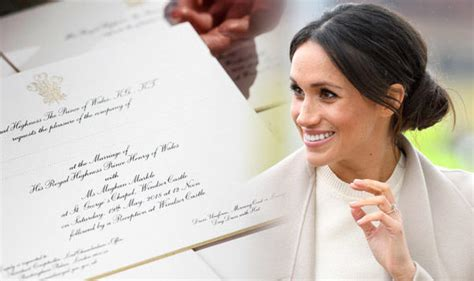 The Royal Wedding Invitation