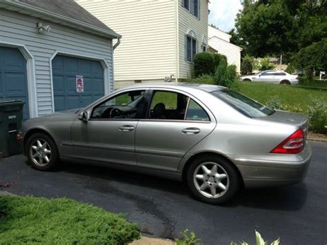 how to fix cars 2003 mercedes benz c class electronic throttle control buy used 2003 mercedes benz c240 4matic sedan 4 door 2 6l in feasterville trevose pennsylvania