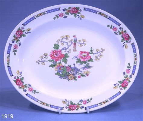 blossom serving platter bird and blossom vintage oval serving platter collectable