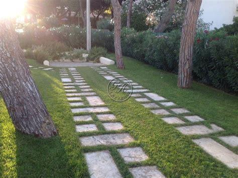 camminamento giardino camminamento in pietra naturale camminamento in pietra