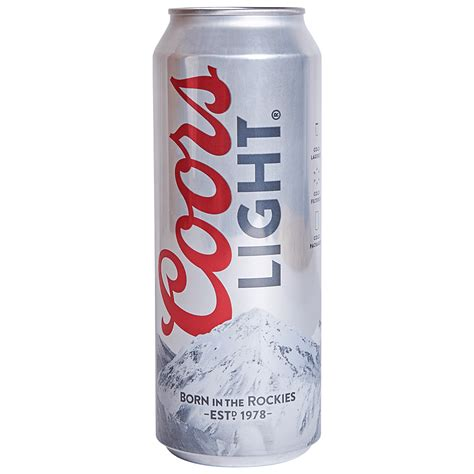 does coors light gluten how much does a 24 oz of coors light
