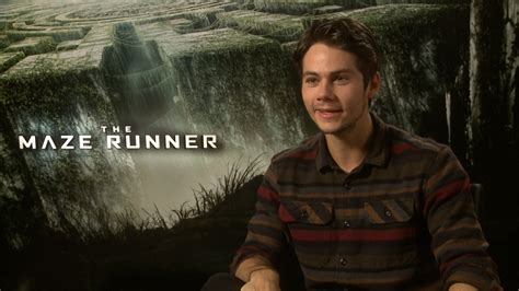 the maze runner movie images featuring dylan o brien dylan o brien interview the maze runner