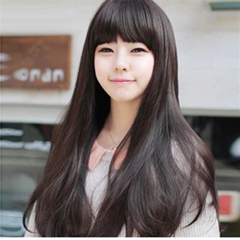 Korean Haircuts For Long Straight Hair | splendid korean straight hairstyles for girls
