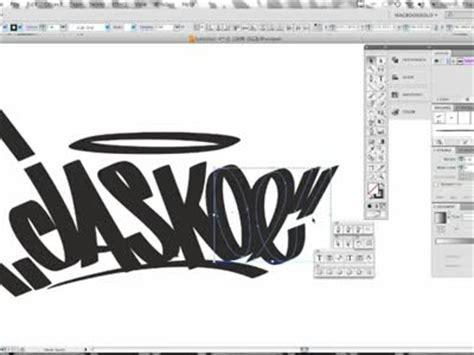 tutorial illustrator graffiti grafitti arts and styles it s on de anza