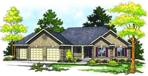 traditional ranch style home plan 89130ah 1st floor