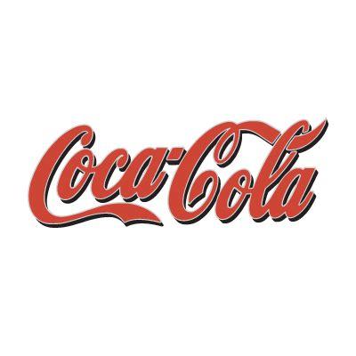 Stickers Coca Cola Grand Format by Coca Cola Brand Logo Vector Free