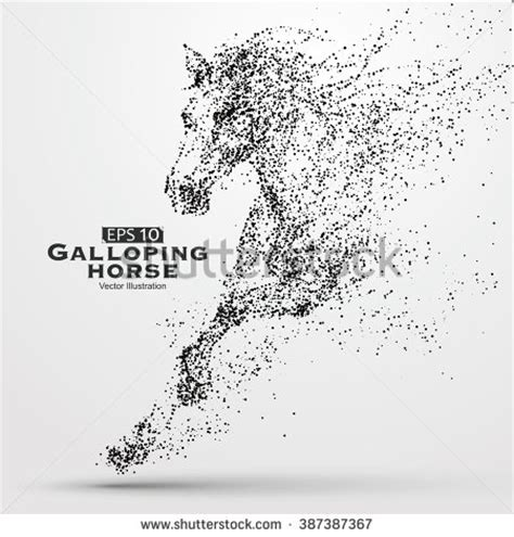 house line drawing images stock photos vectors shutterstock galloping horse particles vector illustration 387387367