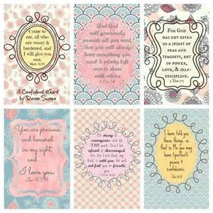 cards for your purse etc scripture free printable printables