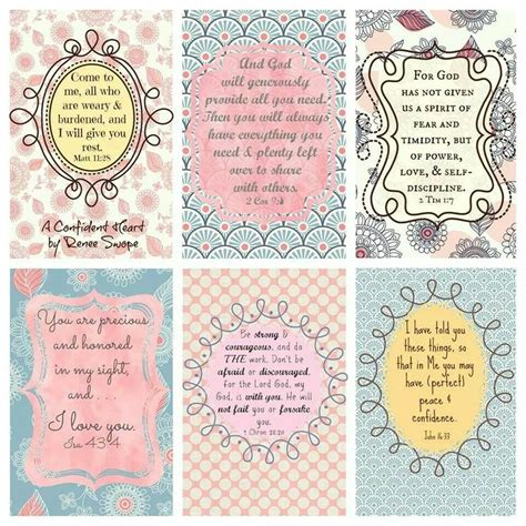 printable encouragement stickers encouragement cards for your purse etc scripture free