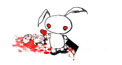 killer bunny wabbit by allua808 on deviantart