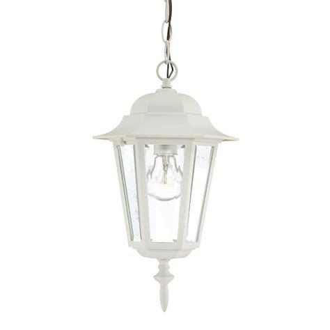 White Outdoor Light Garden 4 Light White Outdoor Led Solar Lantern 50 19 W The Home Depot