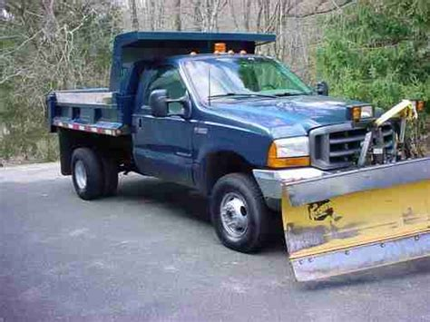car owners manuals for sale 2002 ford f350 transmission control buy used 99 ford f350 dump 4wd 4 wheel drive 7 3l diesel manual trans std plow 77k miles in